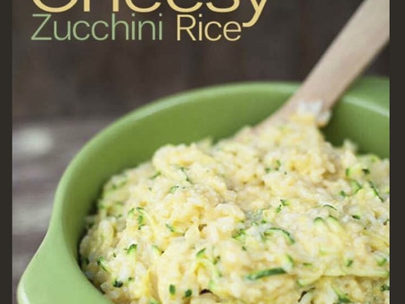 """Healthy Cheesy """"Rice"""""""