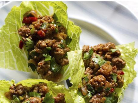 Lime Cilantro Pork Tacos