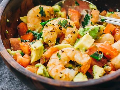 Quick Healthy Shrimp Salad