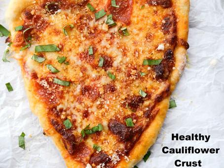 NY Style Healthy Pizza
