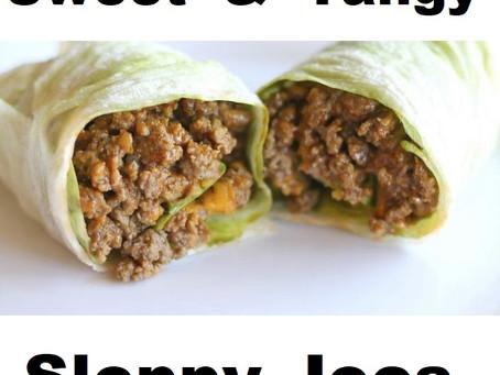 Sweet-n-Tangy Healthy Sloppy Joe's