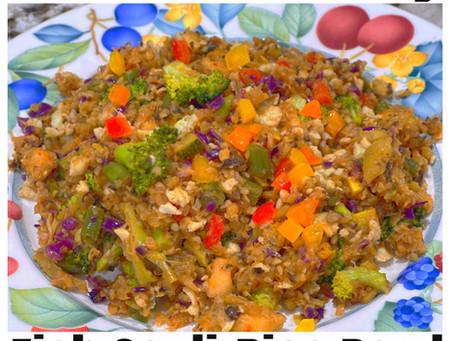 Fish Cauli-Rice Bowl
