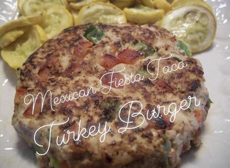 Mexican Fiesta Taco Turkey Burger