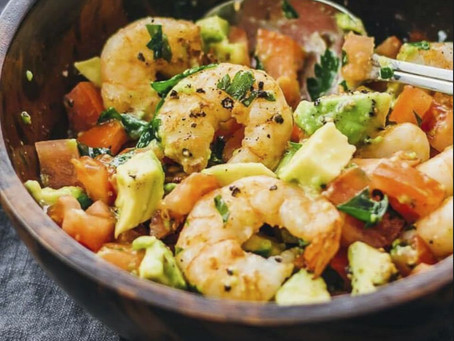 Healthy Lime Shrimp Salad
