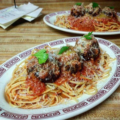 Couple of spaghetti and meatballs comin' at ya!