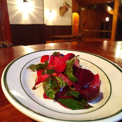 One of our seasonal local beet salads
