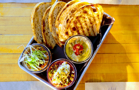 Our seasonal dips.  Get'em before they're gone!