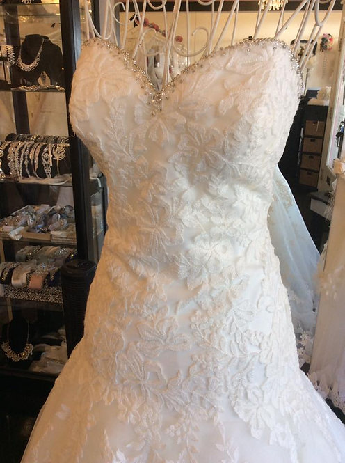 Capture the moment all lace size 10 brand new