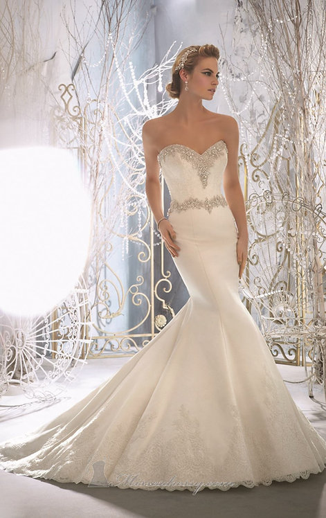 MORI LEE SIZZLE AND SPICE SZ 14