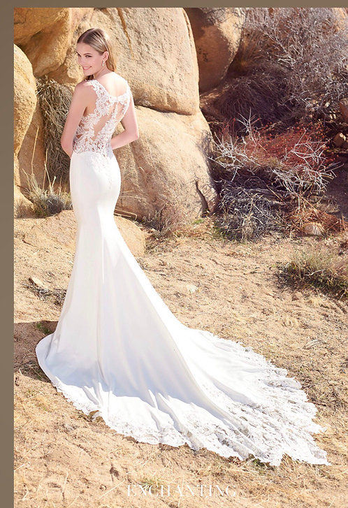Steal away for a romantic elopement in this fabulous order in your size dress