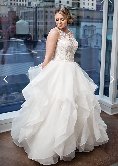 Luscious layered ballgown size 12 dance forever forever