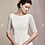 Thumbnail: Elegant simplicity romantic getaway dress by Justin Alexander size 10