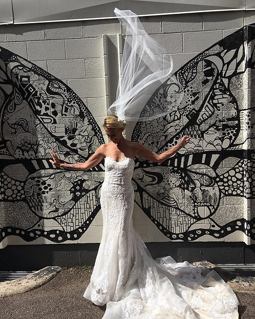 Absolutely Magic lace dream dress in a size 12 Madi Lane