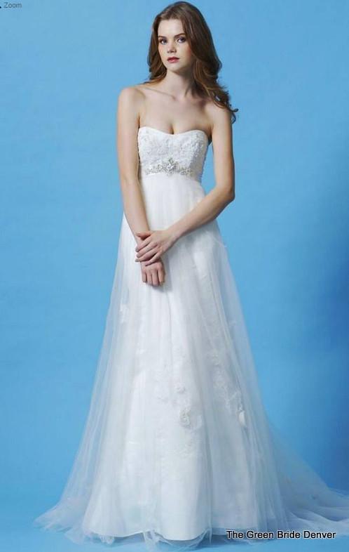 SIMPLE SOFT FLOWING sz 12 new | WEDDING DRESS SHOP{ DENVER} THE ...