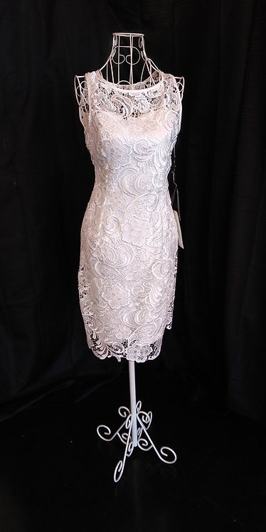 ADRIANNA PAPELL ALL LACE SIMPLICITY NWT SZ 6