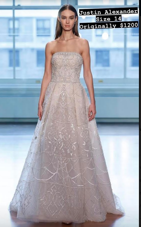romantic fantasy with Incredible embroidery size 14