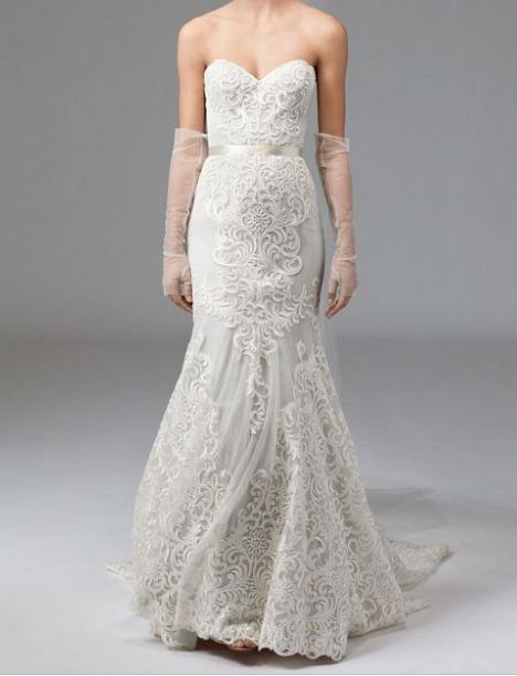 for The Unique bride this Waters dress in a size 12