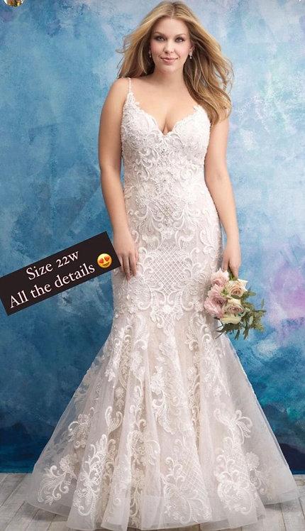 Rare size 22 guaranteed wedding wisdom softest lace ever