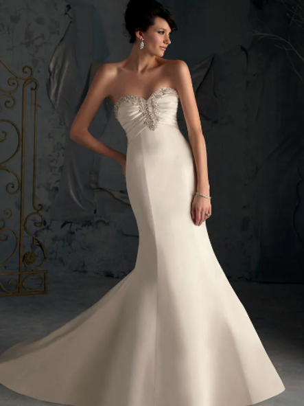 Paradise found with this NEW Mori Lee Ivory size 10 dream dress