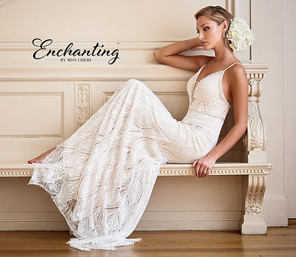 drop-dead-gorgeous sleeveless stretch beaded lace sheath