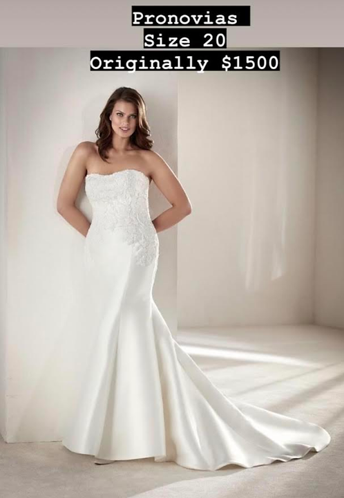 soft sensationnel silky size 20 by Pronovias
