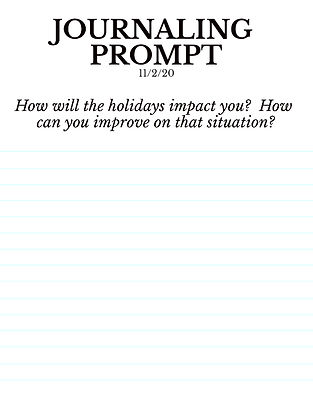 11-2-20 How will the holidays impact you