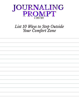 1-20-20 List 10 Ways to Step Outside You