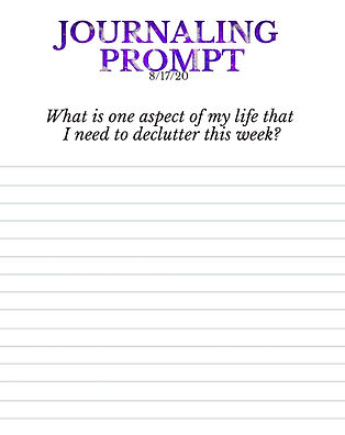 8-17-20 What is one aspect of my life th