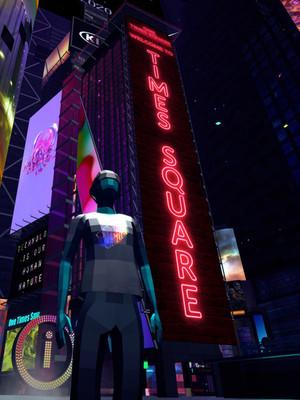 VNYE on Times Square