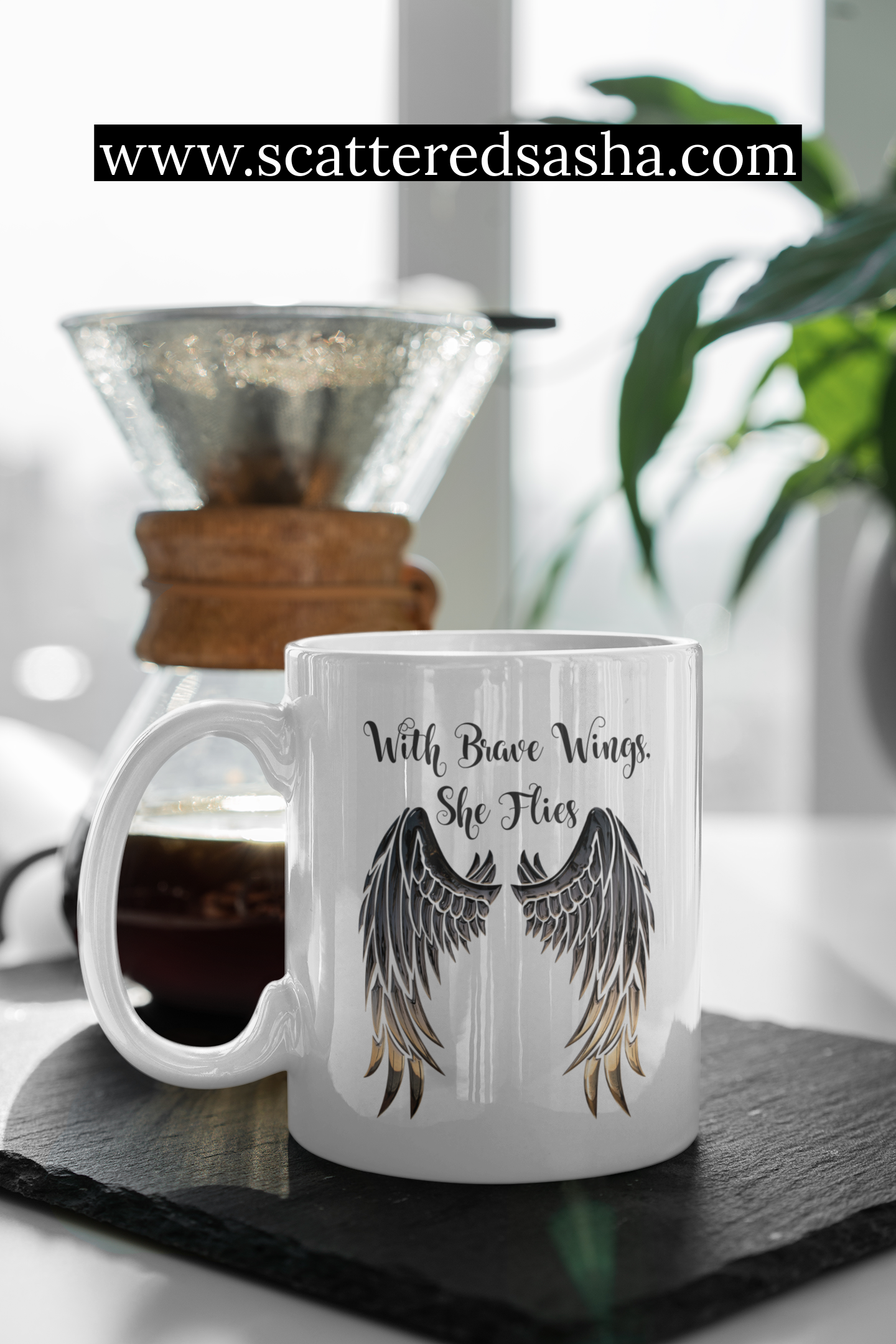 Promo - brave wings on cup