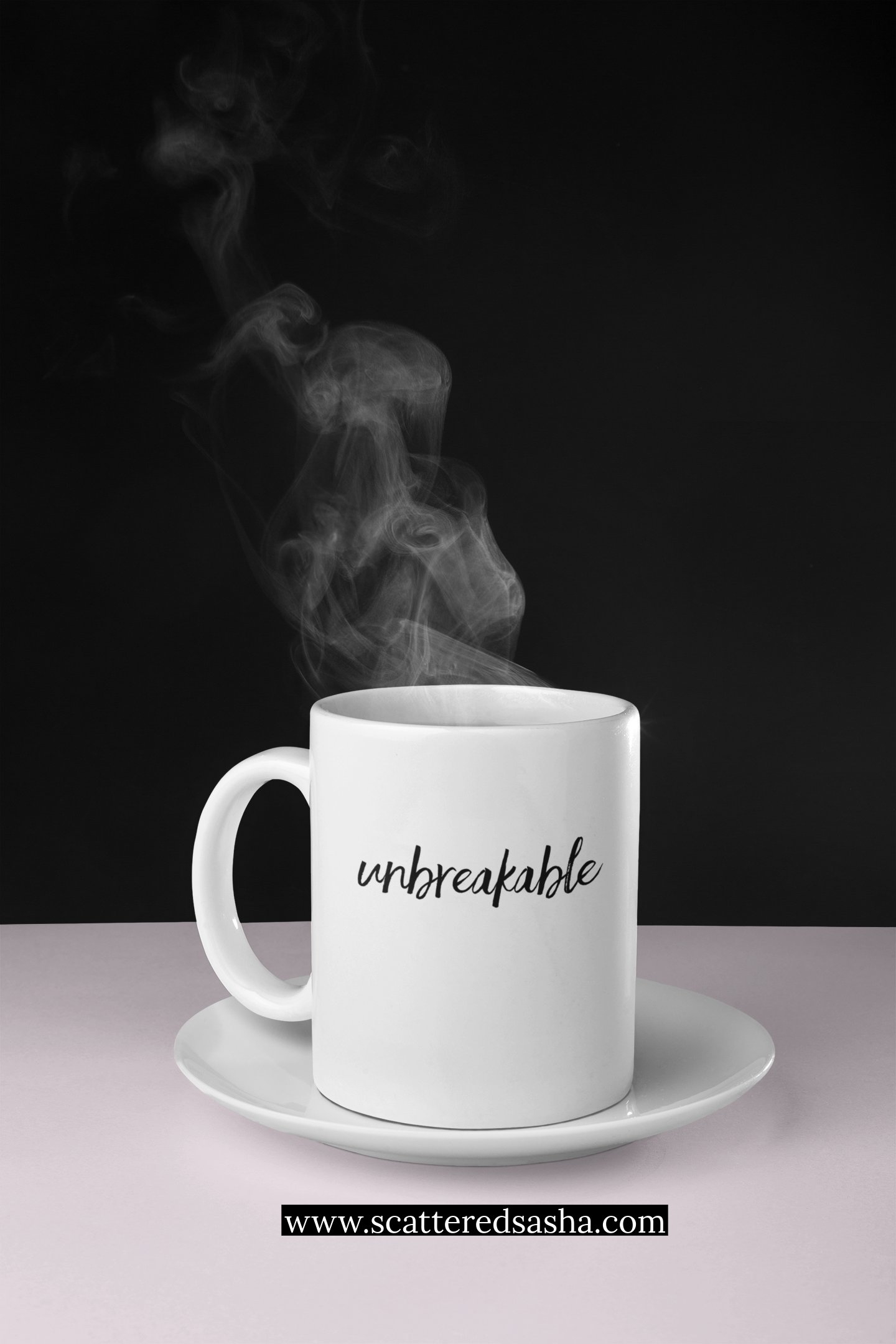 Promo - Unbreakable on cup