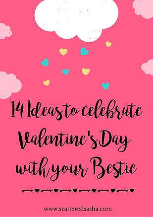 14 ideas to celebrate V-Day with your be