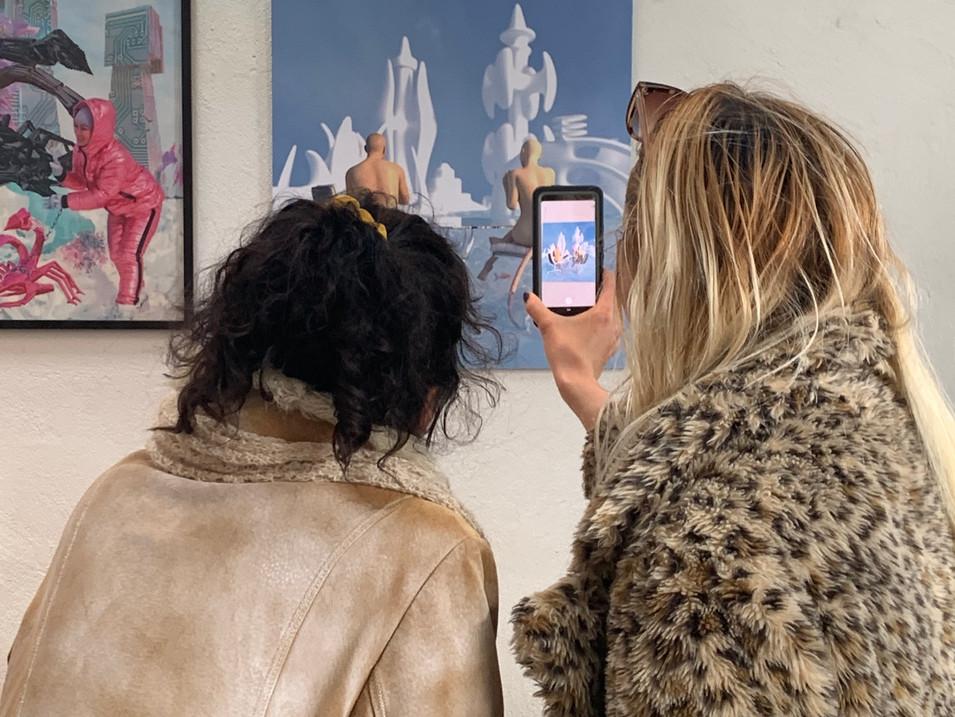 AR Exhibition - Solo Exhibition