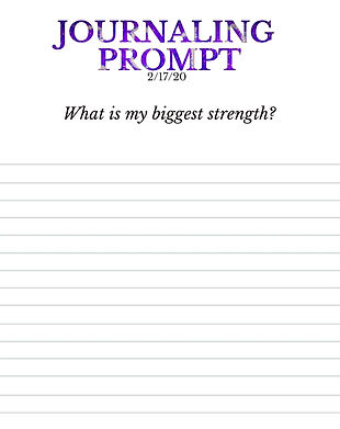 2-17-20 What is my biggest strength?.jpe