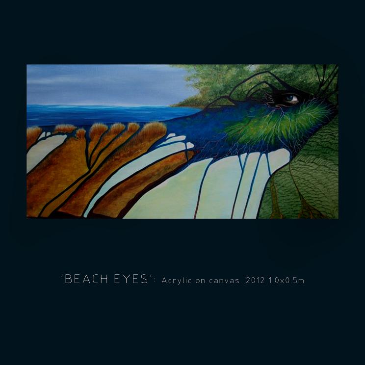 'Beach Eyes' £850 original