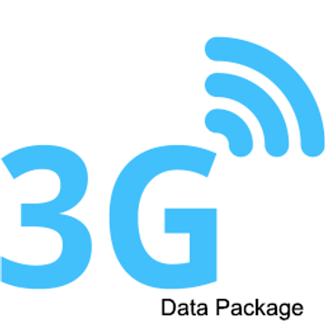 3G International Data Plan (1MB/month - 2 year prepaid)