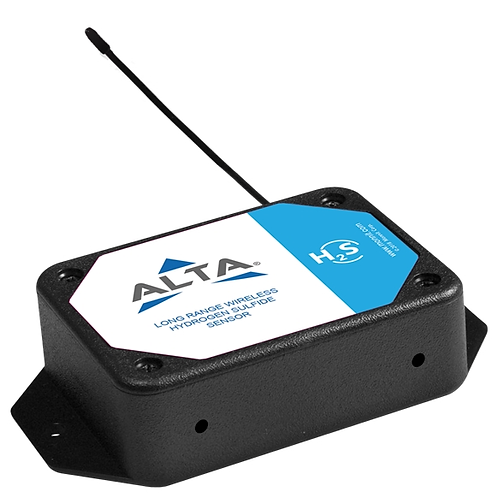 ALTA Wireless Hydrogen Sulfide (H2S) Gas Sensor -AA Battery Powered
