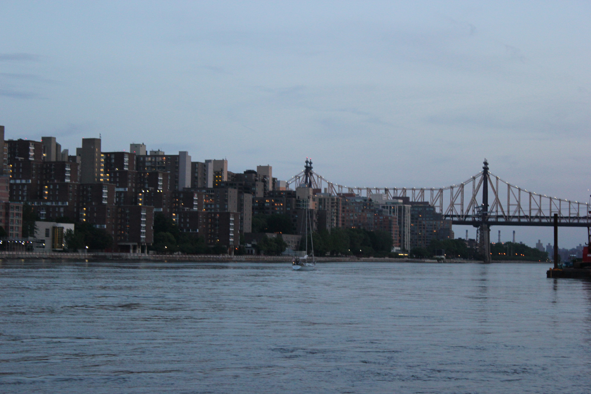 Roosevelt Island, New York.