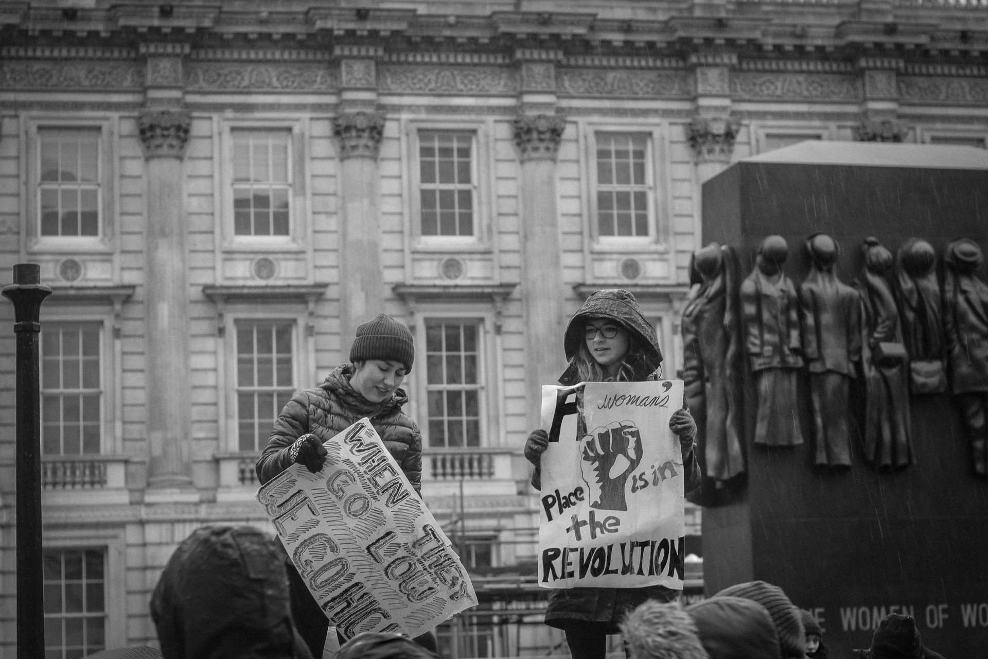 Women's March London 2018.