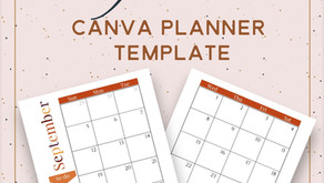 Free Canva Fall Planner Template.