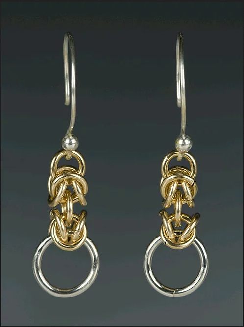 "Laurie Schutt Jewelry ""Lace"" Earrings"
