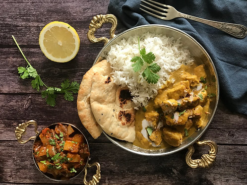 Chicken Korma: The Fundamentals of Indian Cooking - Saturday 9/18 2-4PM