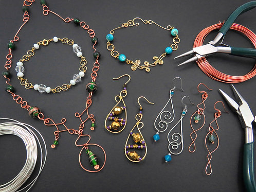 Introductory Wireworking for Jewelry Designs - Thursday 9/16 5PM - 6:30PM
