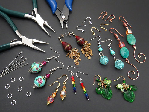 Creating Captivating Beaded Earrings - Thursday 8/5 5PM - 6:30PM