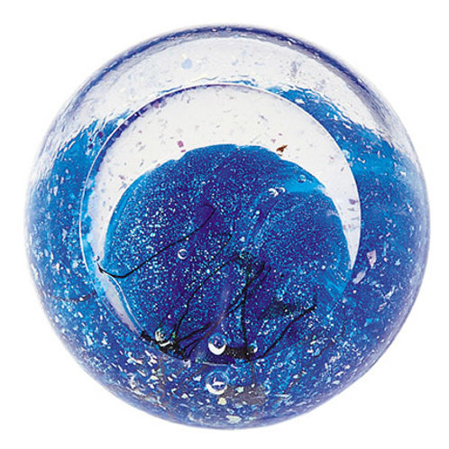 American made Glass Paperweight Planet Neptune