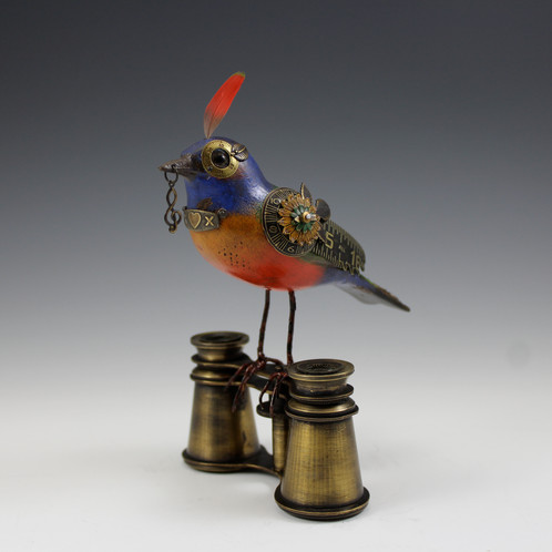 These Mullanium Bird Sculptures Are Perched Between Past And Present,  Combining Bird Forms And Antique Found Objects To Create A Timeless Work Of  Art Anyone ...