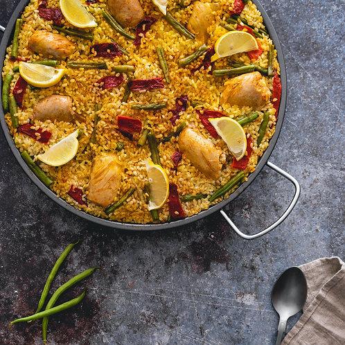 Paella Valencia: A Classic Spanish Dish - Saturday 6/26 2-4PM