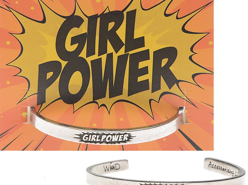 "Quotable Cuffs - ""Girl Power"""