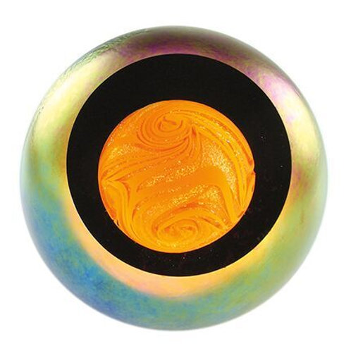 American made Glass Paperweight Sun