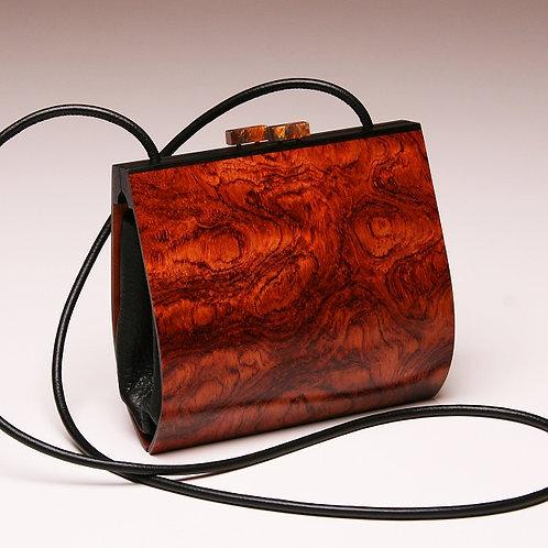 Handmade Wood Purse Myrica Bubinga